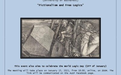 """Fictionalism and Free Logics"" – conference with professor Mircea DUMITRU"