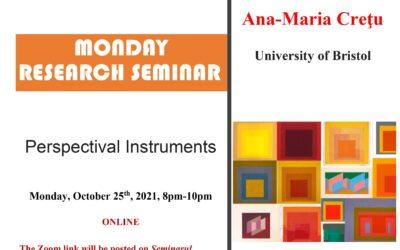 Seminar cercetare DFT 'Perspectival Instruments