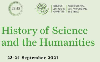 Conf. univ. dr. Dana Jalobeanu invitată la simpozionul History of Science and the Humanities