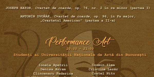 IANOSI 2018 – Performance Art