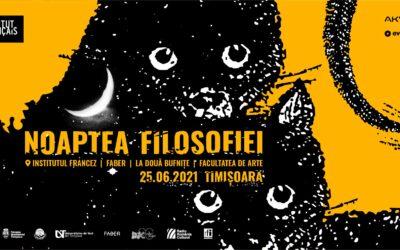 Noaptea Filosofiei la Timișoara