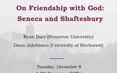 On Friendship with God: Seneca and Shaftesbury