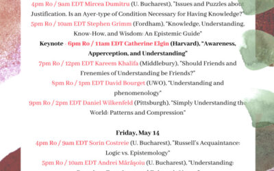 """Conference """"Bridges between the epistemology and the phenomenology of understanding"""""""