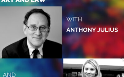 Press Release: A PHILOSOPHICAL TALK ON ART AND LAW with professor ANTHONY JULIUS