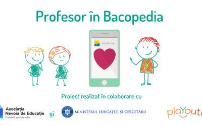 Profesor în Bacopedia