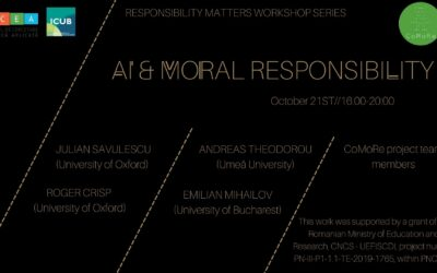 CCEA – Responsibility Matters Workshop: AI & Moral Responsibility