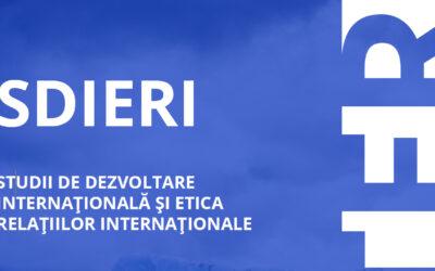 Studii de Dezvoltare Internațională și Etica Relațiilor Internaționale (SDIERI)