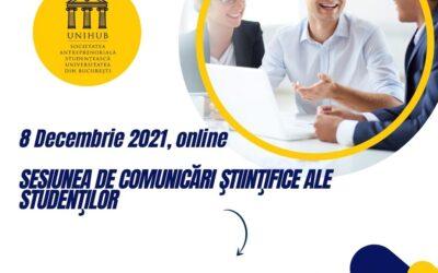 SESIUNEA DE COMUNICĂRI ŞTIINŢIFICE ALE STUDENŢILOR – Educație antreprenorială și antreprenoriat pentru secolul XXI