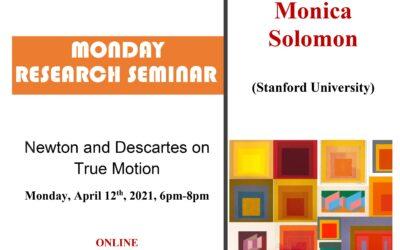 Seminar cercetare DFT 'Newton and Descartes on True Motion'