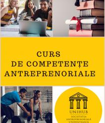 Organizarea cursului Competențe antreprenoriale – 17-18 si 24-25 oct, 4 module, 32 ore (online)