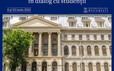 Studenții UB, provocați la dialog de rectorul Marian Preda